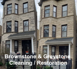Brownstone & Greystone Cleaning / Restoration