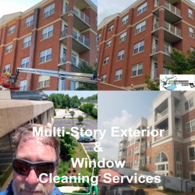 Multi-Story Exterior & Window Cleaning Services