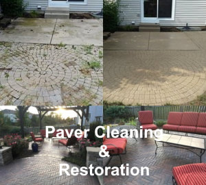 paver cleaning & restoration
